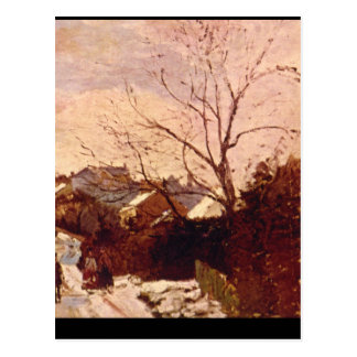Neige a Lower Norwood_Impressionists Postcard