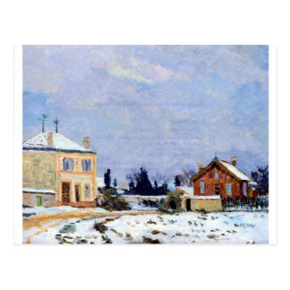 Neige by Armand Guillaumin Postcard