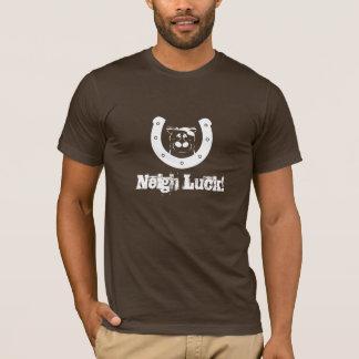 Neigh Luck White Design T-Shirt