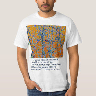 Neighbor to the Birds - Thoreau T-Shirt