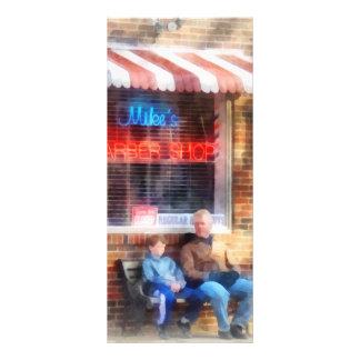 Neighborhood Barber Shop Rack Card