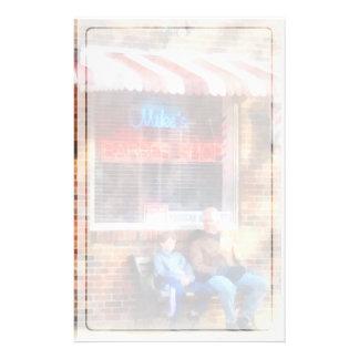 Neighborhood Barber Shop Stationery