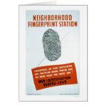 Neighborhood Fingerprint Station - WPA