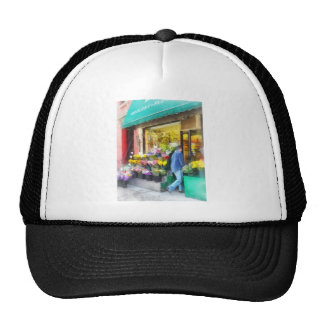 Neighborhood Flower Shop Mesh Hats