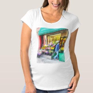 Neighborhood Flower Shop Maternity T-Shirt