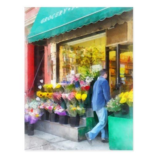 Neighborhood Flower Shop Postcards
