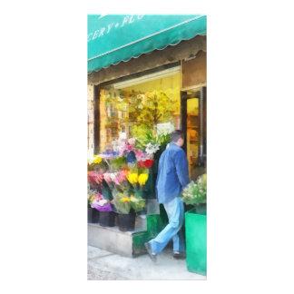 Neighborhood Flower Shop Rack Card