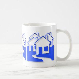 Neighborhood Of Houses Mug