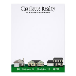 Neighborhood Real Estate Letterhead