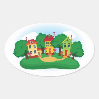 Neighborhood Sticker - SRF