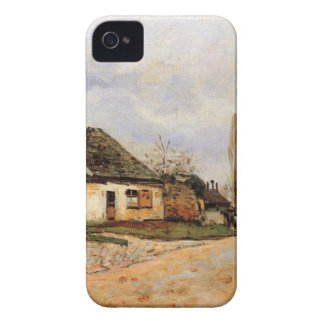 Neighborhood Street in Louveciennes Alfred Sisley iPhone 4 Case-Mate Case