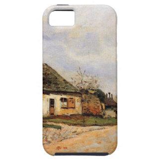 Neighborhood Street in Louveciennes Alfred Sisley iPhone SE/5/5s Case