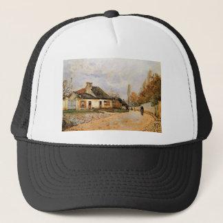Neighborhood Street in Louveciennes Alfred Sisley Trucker Hat