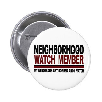 Neighborhood Watch Member Button