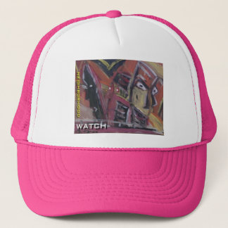 neighborhood watch trucker hat