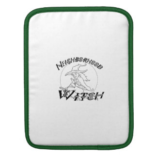 Neighborhood witch Ipad Sleeve