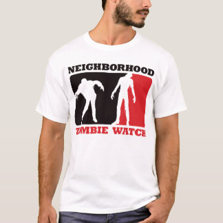 Neighborhood Zombie Watch - Red T-Shirt