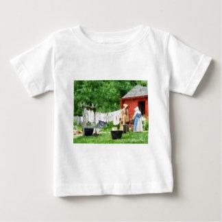 Neighbors Gossiping on Washday Baby T-Shirt