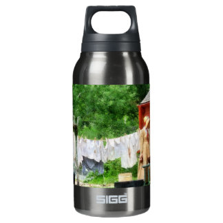 Neighbors Gossiping on Washday SIGG Thermo 0.3L Insulated Bottle