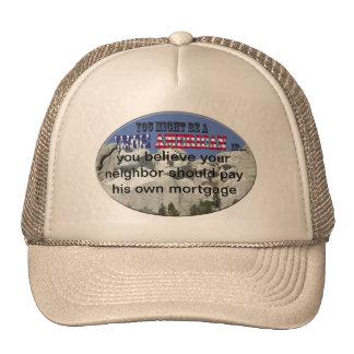 neighbors mortgage trucker hat