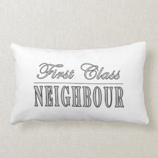 Neighbours First Class Neighbour Throw Pillow