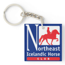 NEIHC Double sided Keychain
