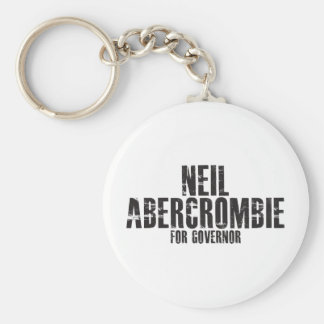 Neil Abercrombie For Governor 2010 Basic Round Button Keychain