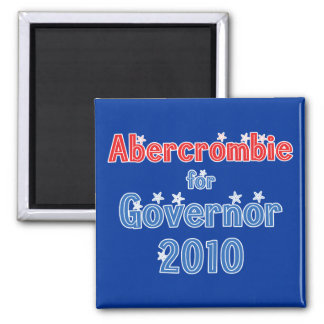 Neil Abercrombie for Governor 2010 Star Design Magnet