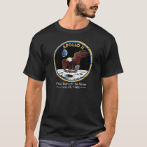 Neil Armstrong space station space museum rocket T-Shirt