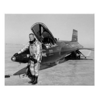 """Neil Armstrong X-15 poster 16""""x20"""""""