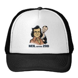 Neil before Zod Trucker Hat