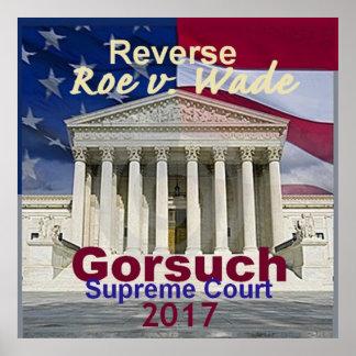 Neil GORSUCH Supreme Court POSTER Print
