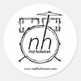 Neil Holloman Drum Kit Stickers