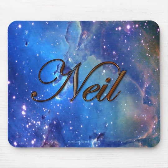 NEIL Name-Branded Personalised Gift Mousepad