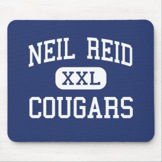 Neil Reid - pumas - alto - el municipio de Clinton Mouse Pads