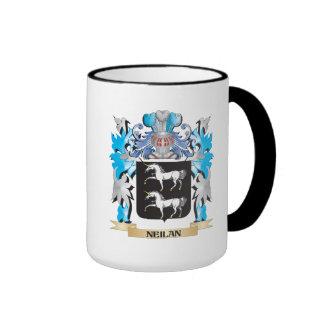 Neilan Coat of Arms - Family Crest Ringer Coffee Mug