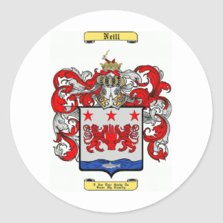 Neill Classic Round Sticker