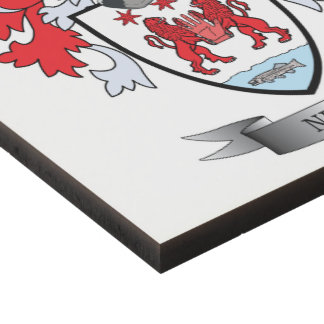 Neill Coat of Arms Panel Wall Art