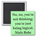 neils bohr quotation fridge magnets