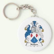 Neilson Family Crest Keychain