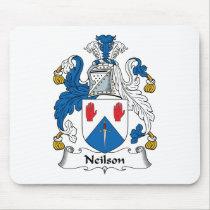 Neilson Family Crest Mousepad