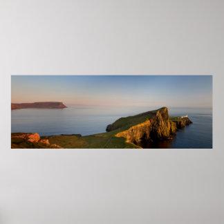 Neist Lighthouse Isle of Skye Poster