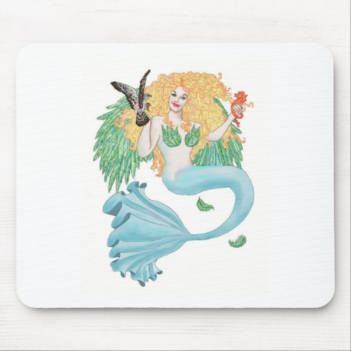 Neither Fish Nor Fowl Mouse Pad