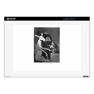Neither more nor less by Francisco Goya Decal For Laptop