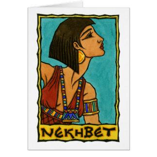 Nekhbet Greeting Card