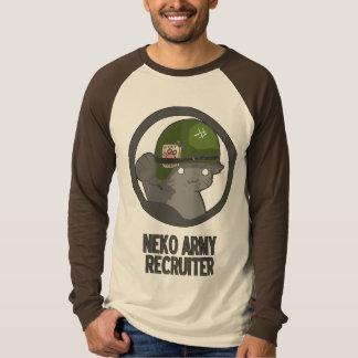 NEKO ARMY RECRUITER! T-Shirt