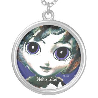 Neko Girl Blue, womens Girls' Necklace