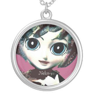 Neko Girl, Jet! Pretty Womens' Girls' Necklace