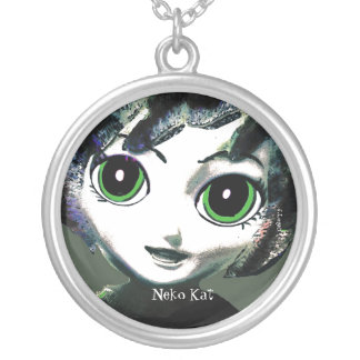 Neko Girl, Kat, Womens' Girls'  Necklace/ Jewelry