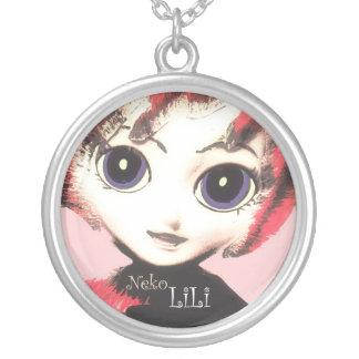 Neko Girl, LiLi ~ Pretty Womens' Girls' Necklace